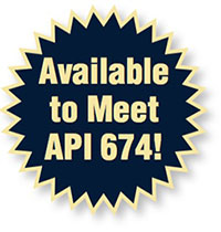 Available to Meet API 674!